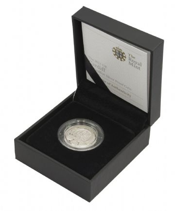 2011 Silver Proof Piedfort Cardiff One Pound